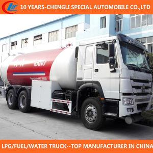 6X4 LPG Filling Truck 30cbm LPG Bobtail Truck for Sale pictures & photos