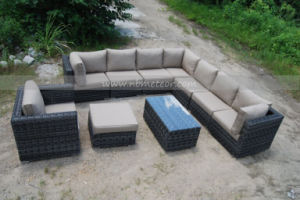 Garden Sectional Outdoor Wicker/Rattan Sofa Set (MTC-189) pictures & photos
