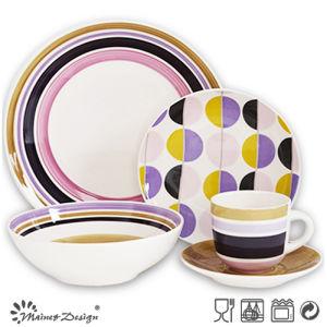 20PCS Ceramic Dinner Set Hand Painted Design pictures & photos