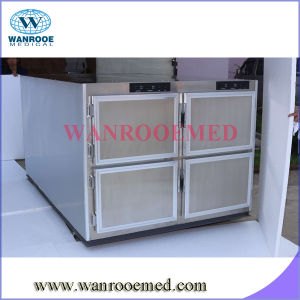 Ga304 High-Quality Funeral Mortuary Corpse Refrigerator for Four Bodies pictures & photos
