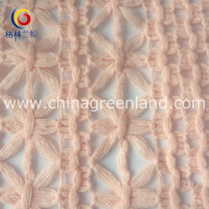 Cotton Organza Embroidered Fabric for Dress Textile Garment (GLLML141) pictures & photos