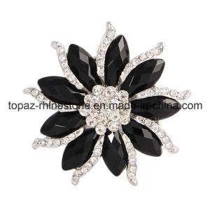 Hot Sale Crystal Jewelry Brooch Luxury Rhinestone Party Brooch (TM-028) pictures & photos