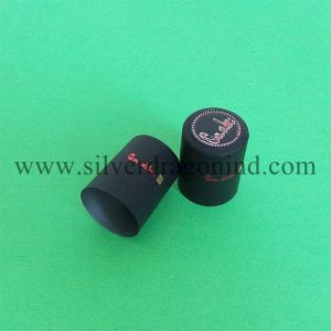 Heat Sensitive PVC Shrink Cap for Bottle Packaging, Bottle Cover pictures & photos