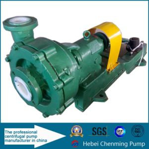 Uhb Type Abrasion Resistant Fluorin Plastic Mortar Centrifugal Pump