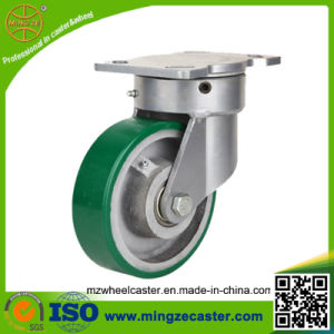 5inch Heavy Duty Iron Center PU Caster Wheel pictures & photos