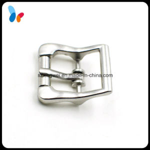 New Style Small Silver Luggage Pin Belt Buckle pictures & photos