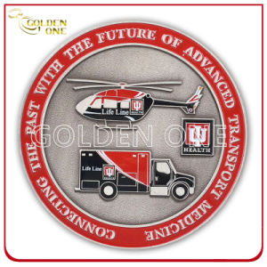 Personalized Antique Nickel Plated Corporate Metal Coin pictures & photos