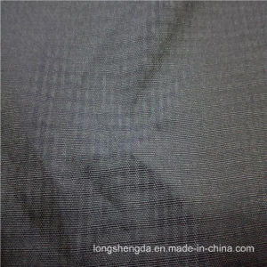 75D Water & Wind-Resistant Anti-Static Sportswear Woven Plaid Jacquard 100% Polyester Fabric (E153) pictures & photos
