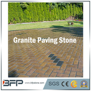 Natural Granite Cobble/Cube/Cubic Paving Stone/ Cobble Stone for Landscaping, Garden pictures & photos