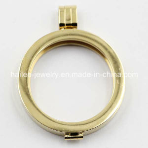 Plated Gold Stainless Steel Fashion Locket Pendant Custom Jewelry pictures & photos