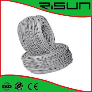 Wholesales Best Price CCA Conductor UTP Cat5e Bulk Cable with Gray PVC Jacket pictures & photos