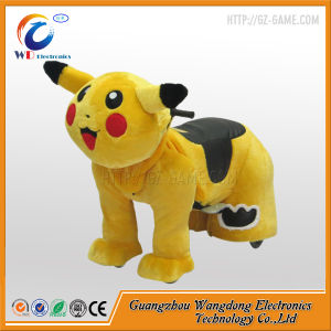Coin Acceptors Stuffed Animal Ride Electric Pet Rides From Wangdong pictures & photos