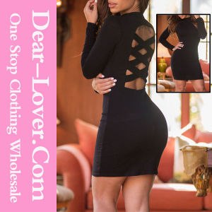 2016 Sexy Fashion Cocktail Formal Evening Prom Party Bandage Dress pictures & photos