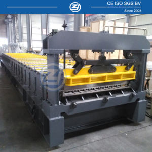 Aluminium Roof Sheet Roll Forming Machine pictures & photos