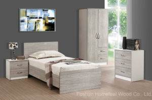 College Student Bedroom Furniture Set for Student Dormitory (HF-EY08272) pictures & photos