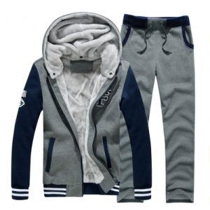 Custom Men′s Full Zip Cheap Fleece Hoodie Jacket pictures & photos