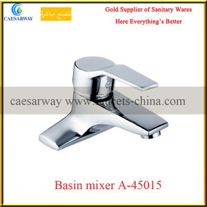 Deck Mounted Brass Bathroom Wash Water Basin Faucet pictures & photos