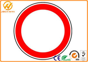 Aluminium Plate Ce Reflective Round Traffic Safety Signs pictures & photos