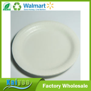 Promotional White Paper Tableware Disposable Paper Plate pictures & photos