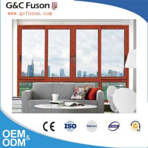 Aluminum Horizontal Opening Pattern Sliding Window pictures & photos
