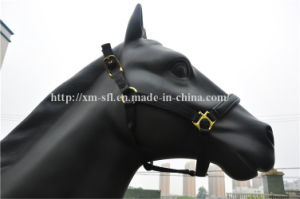 Nylon Halter for Horse with Leather pictures & photos