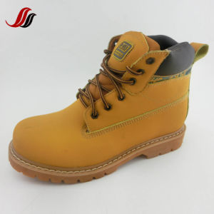 High Quality Men Winter Casual Leather Shoes Leather Boots (FF610-12) pictures & photos