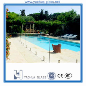 Clear Toughened Glass/Safety Tempered Glass for Swimming Pool Fence