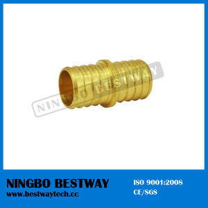 Lead Free Brass Pex Barbed Coupling Splice Crimp Fittings pictures & photos