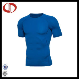 High Quality Compression Sportswear Fitness T Shirt for Man pictures & photos