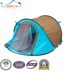 Backpacking Carbin Dome Instant Tent with Vestibule pictures & photos