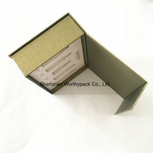 Book-Styled Folding Whitening Essence Packaging Boxes pictures & photos