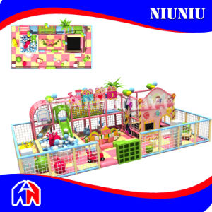 Candy Series Children Soft Indoor Playground with Trampoline pictures & photos