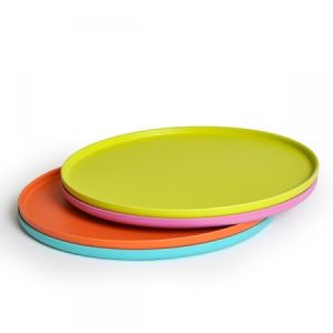 Eco Bamboo Fiber Pizza Tray (BC-T1002) pictures & photos
