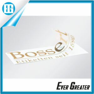 Your Brand Metal Beautiful Custom Logo Sticker pictures & photos