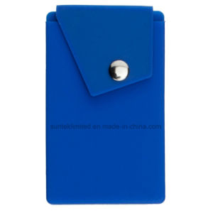 Silicone Phone Pocket Wallet with Stand Card Holder pictures & photos