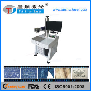 Portable Fabric Marking CO2 Laser Marking Machine (20W) pictures & photos