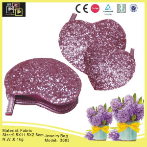 Purple Heart-Shaped Fashion Jewelry Box (3683) pictures & photos
