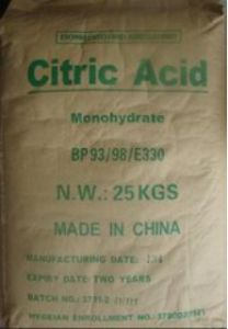 Citric Acid Monohydrate Bp/USP/Food Grade pictures & photos