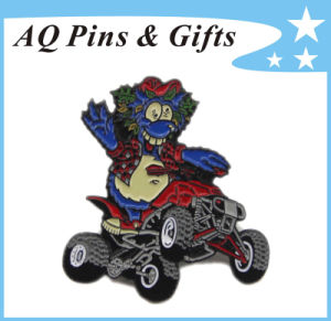 Metal Badge in Soft Enamel for Cartoon (badge-163) pictures & photos