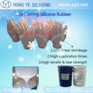 Life Casting Silicone Rubber for Silicone Hands pictures & photos
