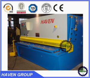 Hydraulic sheet metal shear, sheet shear, steel plate shear pictures & photos