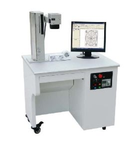 High Quality Ipg 50W Fiber Laser Marking Machine for Metal pictures & photos