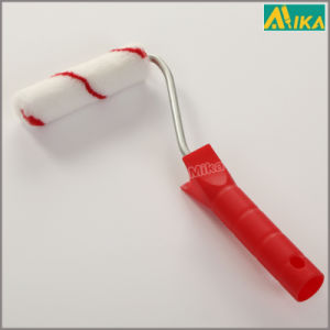 Red Strips Nylon Mini Paint Roller with Plastic Handle pictures & photos