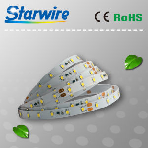 Flexible LED Strip 14.4W/M (IP20 or IP65) SMD5050-60LEDs/M pictures & photos