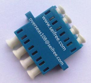 LC Upc Fiber Optic Quad Adaptor pictures & photos