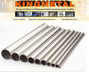 409 /410L 44.6X 0.8mm Automobile Stainless Steel Pipe. pictures & photos