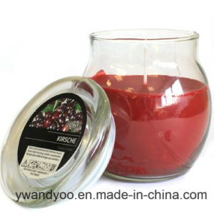 Colorful Scented Soy Wax Candle with Lid