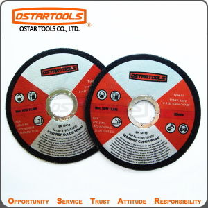 115mm T41 Abrasive Metal Cutting Discs Cut-off Wheel with MPa En-12413 pictures & photos