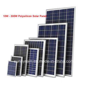 10W Low Power Polysilicon Solar Panel for Solar Products pictures & photos