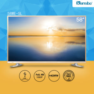 58-Inch LED 1080P HDTV with Aluminium Alloy Fram 58we-5L pictures & photos